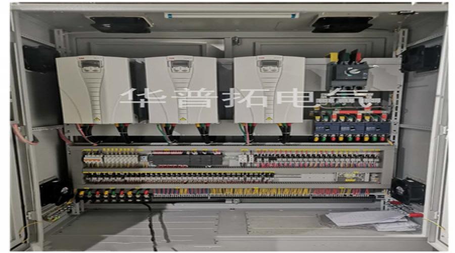 扬州某公司除尘系统配套变频器柜+软启动柜案例